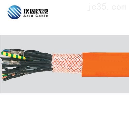 上海和柔替代线无卤耐酸碱PUR复合卷筒电缆