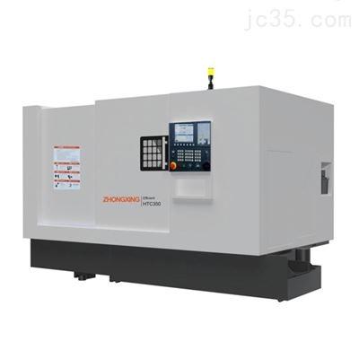 HTB650A中星大型刀塔数控车床加工长度800