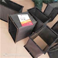 上海方形帆布密封通風口軟連接價格