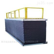 定做升降平台防护罩风琴式防尘折布加工批发