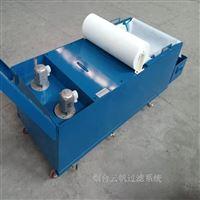 rfgl定制机床冷却液过滤用纸带过滤装置