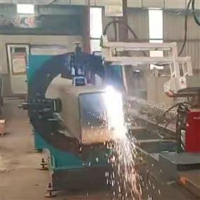 八轴圆管方管切割设备 相贯线数控切割机