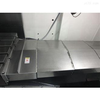 车床钢板防护罩安装