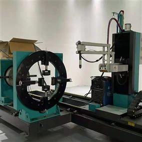 八轴相贯线切割机厂家 农机方圆管切割设备