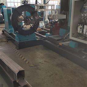 圆方管坡口设备 方管相贯线切割机 农机