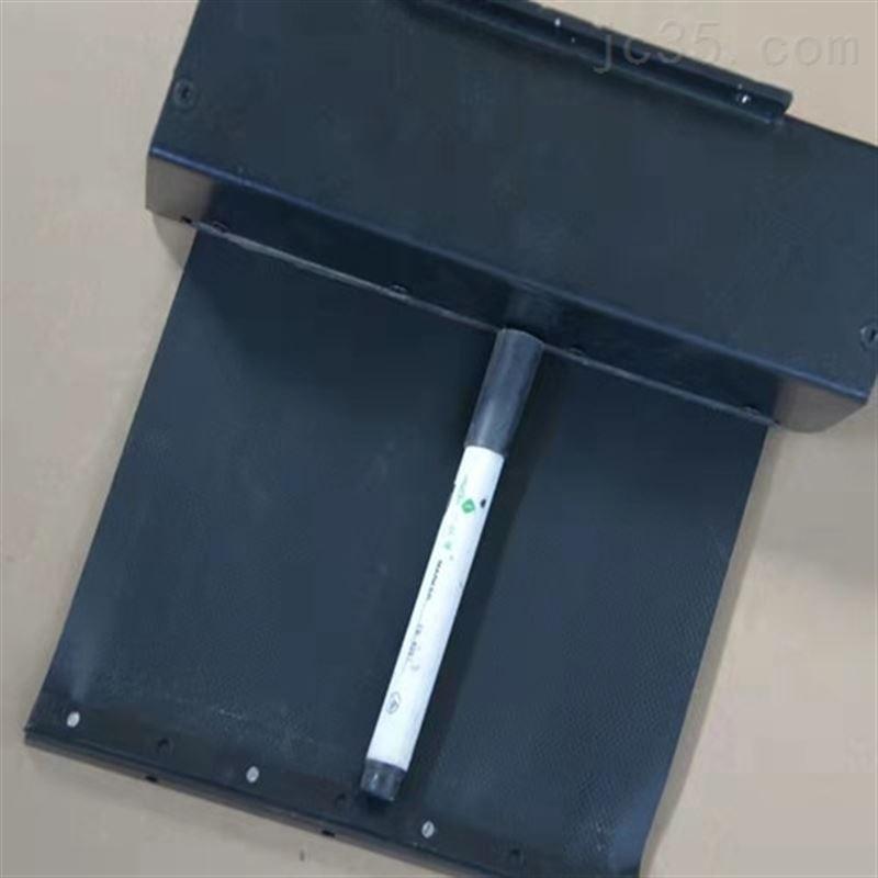 机床卷帘式自动伸缩托架式弹簧卷轴防护罩