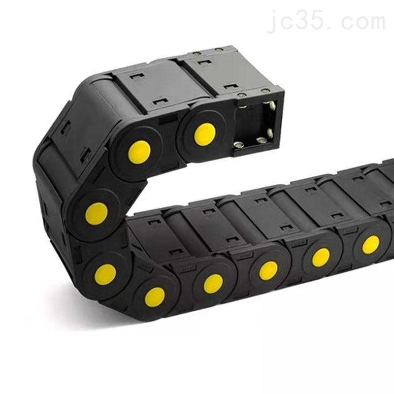 黄点加强全封闭桥式尼龙坦克链