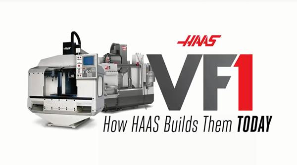 一臺哈斯VF-1是如何制造的?帶你了解美國的機床制造水平