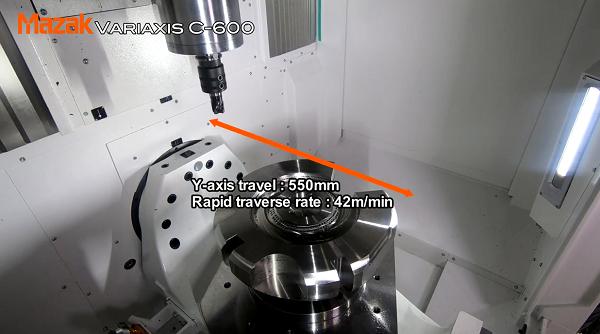 馬扎克搖籃式五軸機床VARIAXIS C-600操作演示
