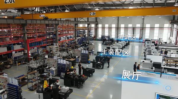 瑞士品質,本地化生產——托納斯西安工廠