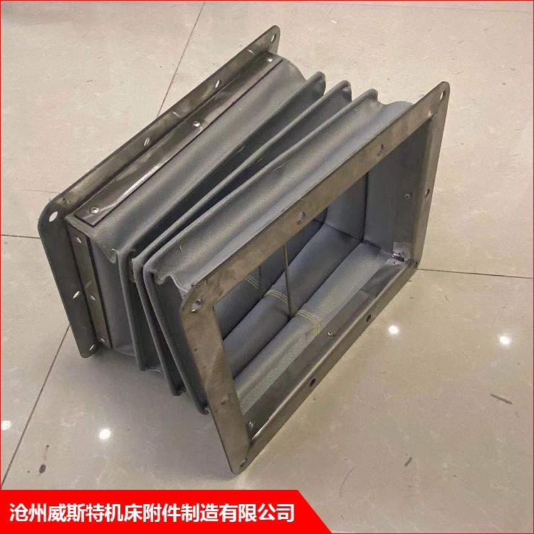 江阴印刷机耐高温通风软连接厂家定制